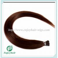"Pre-Bonded Hair 10""-28"" 100s/pack 4# color Straight Human Hair Brazilian hair extension Manufactures"