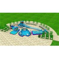 New design giant frame pool metal frame pool inflatable water amusement park water park projects aqua park plan Manufactures