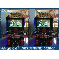 Coin Operated Game Shooting Arcade Machines With Steering Wheel For Driving Manufactures