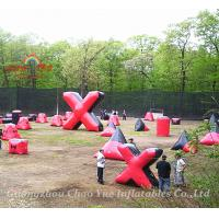 Inflatable Air Bunkers Package, Paintball Bunker Pacakage Manufactures