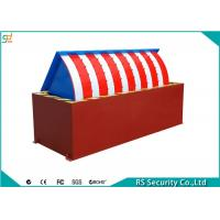 Waterproof SUS304 Roadside Barriers For Parking Control System Manufactures