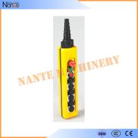 Single Speed AS4 Industrial Remote Pendant Control Stations Overhead Crane Pendant Control Manufactures