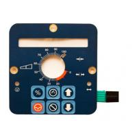 Embossed PET Waterproof Membrane Switch with Silver Printing Manufactures