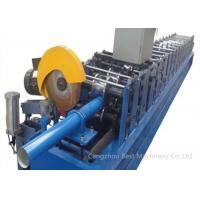 China High Technology GGPI Down Spout Roll Forming Machine 9mx1.4mx1.4m Dimension on sale