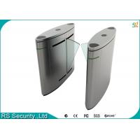 Quality Automatic Turnstile Security Systems , Retractable Flap Turnstile Door for sale