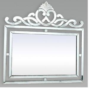 Wall Decor Square Venetian Mirror, Silver Framed Bathroom Wall Mirrors Manufactures