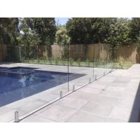 316 Anti-Rust Stainless Steel Spigots Frameless Swimming Pool Glass Railing Manufactures