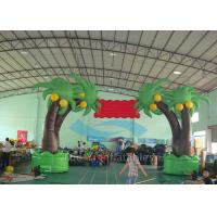Quality Tree Design Inflatable Entrance Arch Advertising With PVC Tarpaulin Material for sale