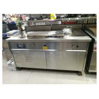 Commercial Restaurant Equipment LPG Rectangle Teppanyaki Grill Iron Plate Surface Manufactures
