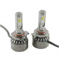 Single Beam Super Bright Headlights 8000 LM 9005 / HB3 36W 2 Side 6500 K Manufactures