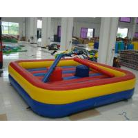 Outdoor Durable Inflatable Sports Games 0.55mm PVC Tarpaulin For Home Manufactures