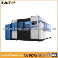 Quality Dual - exchanger table fiber laser cutting machine saving water and electricity for sale