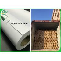 2 & 3 Inch Core 50GSM 80GSM Inkjet Plotter Paper Roll For Garment Drawing Manufactures