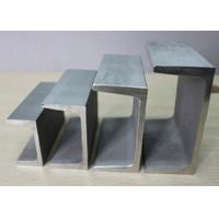 SGCC A36 SS400 Stainless Steel Channel Sections With Galvanized Surface Manufactures