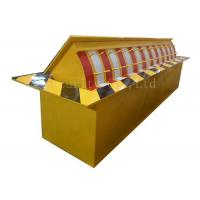 Automatic Heavy Duty Hydraulic Rising Kerb Vehicle Road Blocker Red / Yellow / Green Manufactures