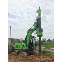 Pile Drilling Machine / Rotary Piling Rig for Construction Stratum Bored Max Torque 40KN.m Manufactures
