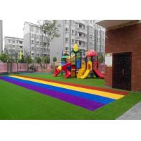 Anti UV Autumn Spring Coloured Artificial Grass Synthetic Turf SGS CE Certification Manufactures
