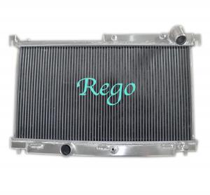 2 Core Aluminum Radiator For MAZDA RX7 1992-1995 MT Aluminum Racing Radiator Manufactures