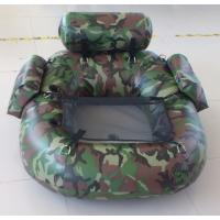 Unique Funny One Person Inflatable Fishing Dinghy Yellow Inflatable Boat Manufactures