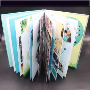 Art Paper Saddle Stitched Booklet , Varnishing Surface Saddle Stitched Brochure Manufactures