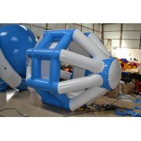 Fireproof Inflatable Water Toys , Large Blue Water Running Toys  for Playing Manufactures