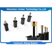 China Stainless Steel 24V Hydraulic Rising Bollards Used In Checkpoint , Important Place on sale