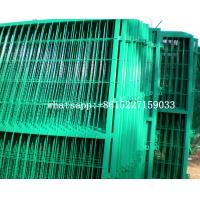 Frame anti climbing welding net wire mesh fence Manufactures