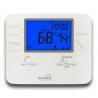 Blue Backlight Electric or Gas Boiler HVAC 24V Digital Heating Room Thermostat For Home Usage Manufactures