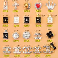 Hot NEW Wholesale Alloy Jewelry 3D Nail Art Jewelry Nail rhinestones Sticker Supplier Number ML2530-2549 Manufactures