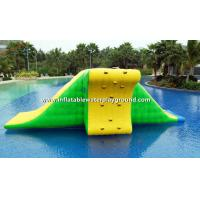 0.9mm Durable PVC Tarpaulin Inflatable Action Tower For Water Park Manufactures