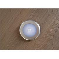Circular Motion Sensor Night Light , Warm White Battery Operated Night Light For Nursery Manufactures
