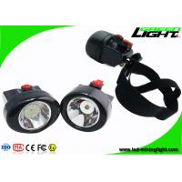 Buy cheap 2.8 Ah Cordless LED Headlamp Rechargeable , Long Working Time Miners Cap Lamp from wholesalers