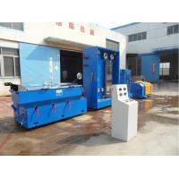 17 Dies PID Synchronous Control Intermediate Copper Wire Drawing Machine And Annealer Manufactures