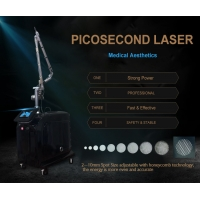 Picosecond 1064 nm 755nm 532nm Pico q switched Nd Yag Laser Pico Laser Tattoo Removal machine price Manufactures