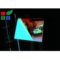 Multi Color EL Light Panel Super Brightness EL Illuminated Sheet For Sign Display Manufactures