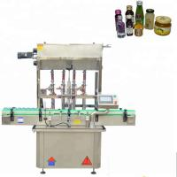 High Speed Capping Machine , 220V 1.6kw Liquid Filling Capping Machine Manufactures