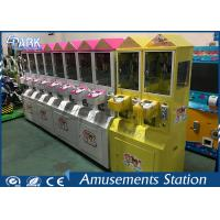 Different Color Mini Toy Crane Machine / Grab Toy Machine CE Certificated Manufactures