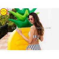 1.4 KG Ananas Shape Inflatable Mattress Non - toxic 190*85*15cm Manufactures