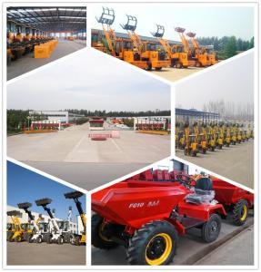 4WD Hydraulic articulated four-wheel dump truck self loading wheel dump Manufactures
