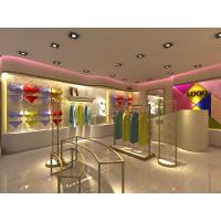 Metal Retail Garment Shop Fittings Modern Style Customized With Promotion Shelf Manufactures