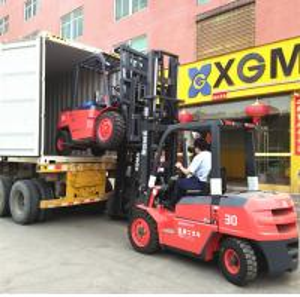 Flexible Body Forklift Diesel 3 Ton , 4 Wheel Forklift Truck For Food Industry