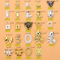 Hot NEW Wholesale Alloy Jewelry 3D Nail Art Jewelry Nail rhinestones Sticker Supplier Number ML2671-2694 Manufactures