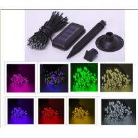 Quality Holiday Festival Solar Christmas String Lights , Weatherproof 100 LED String for sale
