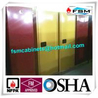 60 GAL Industrial Safety Cabinets , Safety Storage Cabinets For Flammable Liquids Manufactures