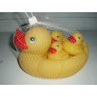 Quality Personalized Floating Rubber Duck Bathroom Set Bath Toys For 3 Year Old for sale
