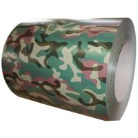 SGS Multi Camouflage Color Coated Steel Coil 0.20 - 1.2MM Thickness Manufactures
