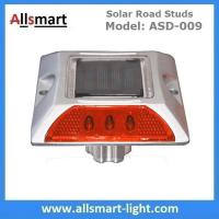 6 LED Solar Road Studs Solar Driveway Warning Lights Solar Highway Marker Lights Pedestrian Crossings Warning Lights Manufactures