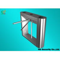 SS Controlled Access Turnstiles Turnstile Security Products IC / ID / Barcode Control Manufactures