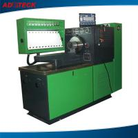 Quality Custom 22KW large torque fuel pump test bench equipment 12 cylinders / LCD for sale