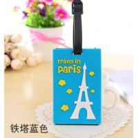 Company logo luggage tag with insert card Manufactures